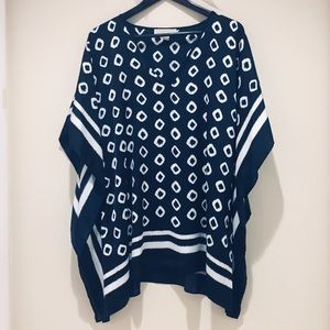 Michael Kors Poncho / Handkerchief Style Top